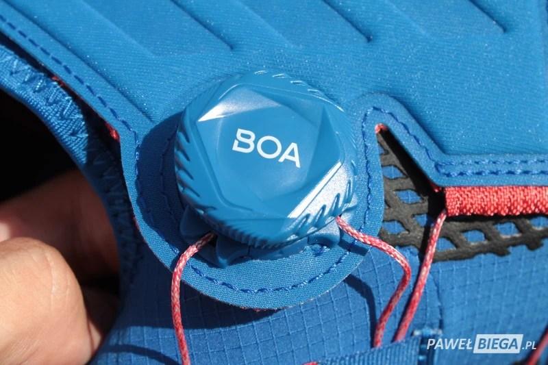 Adidas Terrex Agravic - system boa