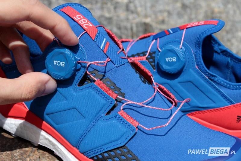 Adidas Terrex Agravic - sznurowanie