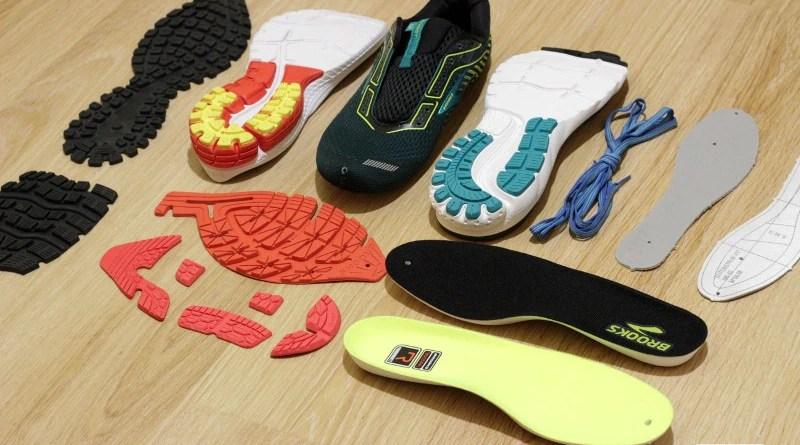 Budowa buta do biegania