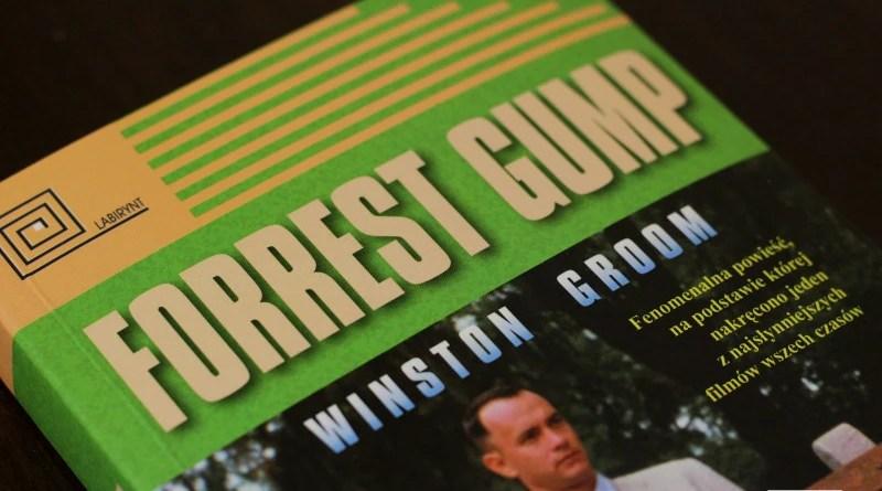Winston Groom - Forrest Gump - zbliżenie