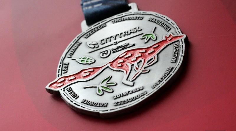 CityTrail 19/20 - medal awers