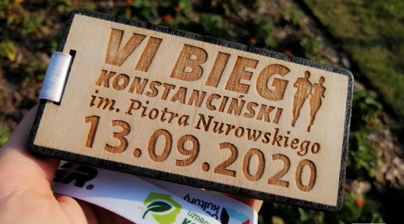 VI Bieg Konstanciński - medal