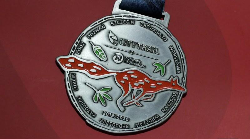 City Trail 2020 - medal