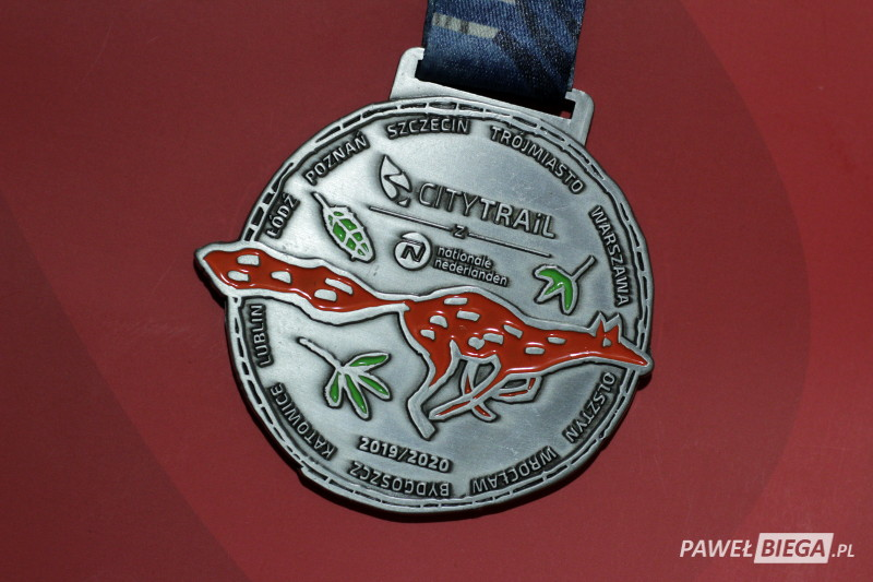 City Trail 2020 - medal