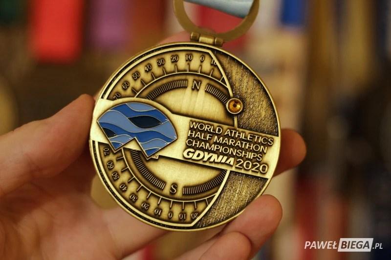 Half Marathon Gdynia 2020 - medal