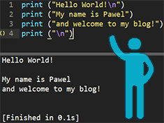 Hello World - Blog post cover