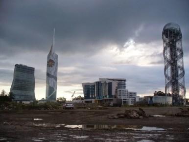 nowoczesna architektura sarpi w autonomicznej republice adżarii w gruzji