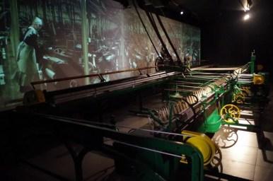 muzeum biała fabryka w łodzi, wystawa interaktywna, przędzarka w kotłowni