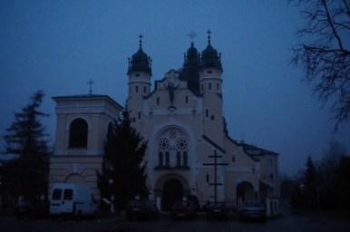 cerkiew pod wezwaniem przemienienia pańskiego w jarosławiu, wieczorny widok