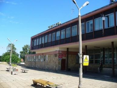 dworzec kolejowy w terespolu przy granicy z białorusią, stan sprzed remontu