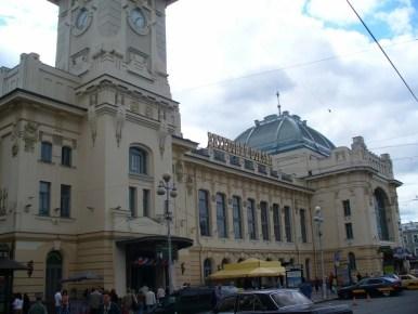 dworzec witebski w sankt petersburgu w rosji