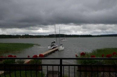 jezioro święcajty w okolicach węgorzewa na mazurach