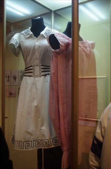 przedwojenny strój kąpielowy w muzeum kamienicy hipolitów w krakowie