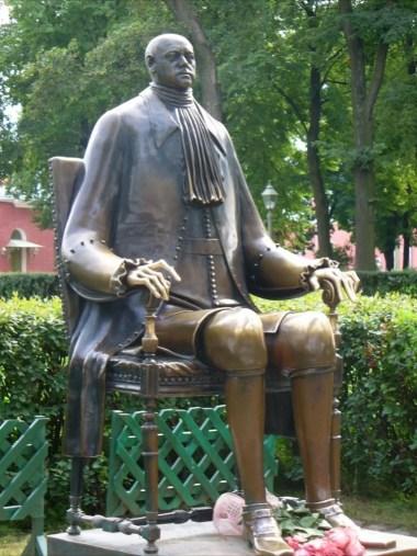 pomnik piotra wielkiego w sankt petersburgu w rosji