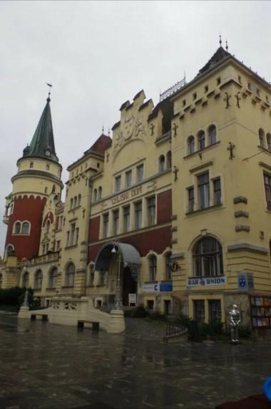 celjski dom w celje w słowenii