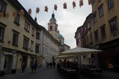 ciril metodov trg w ljubljanie w słowenii