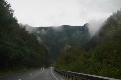 droga do ljubljany prowadząca przez dolinę sawy w słowenii