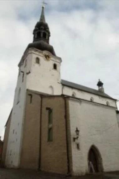 katedra najświętszej marii panny w tallinie w estonii