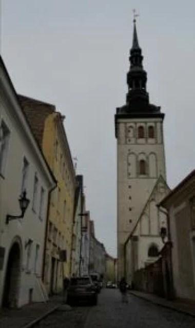 kościół świętego mikołaja w tallinie w estonii