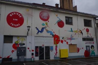 malunki na ścianach w mariborze w słowenii