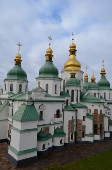 sobór sofijski wpisany na listę unesco w kijowie na ukrainie