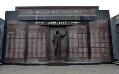 pomnik poległych w wojnie o naddniestrze w tyraspolu