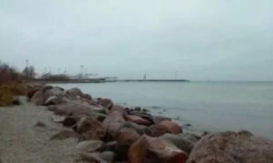 wybrzeże morza bałtyckiego w tallinie w estonii