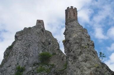 zamek devin w bratysławie w słowacji