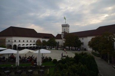 zamek w ljubljanie w słowenii