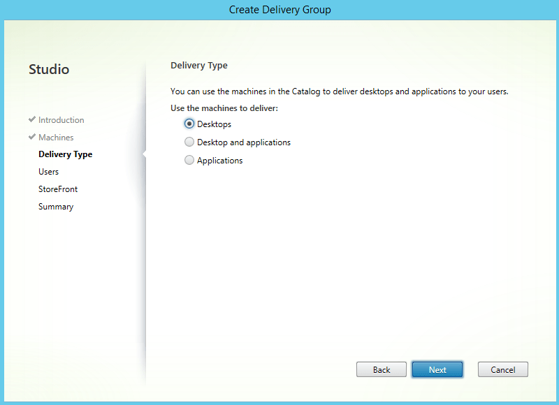 First Look: XenApp/XenDesktop 7.6 – Part 6 (Delivery Groups creation) (5/6)