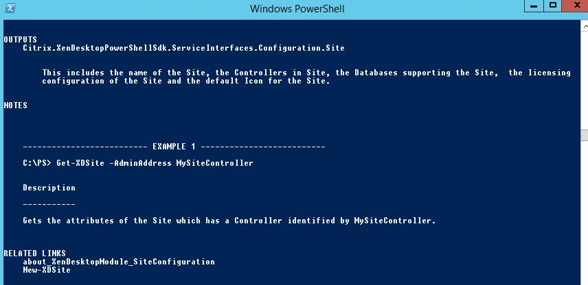 First Look: XenApp/XenDesktop 7.6 – Part 9 (PowerShell) (4/5)