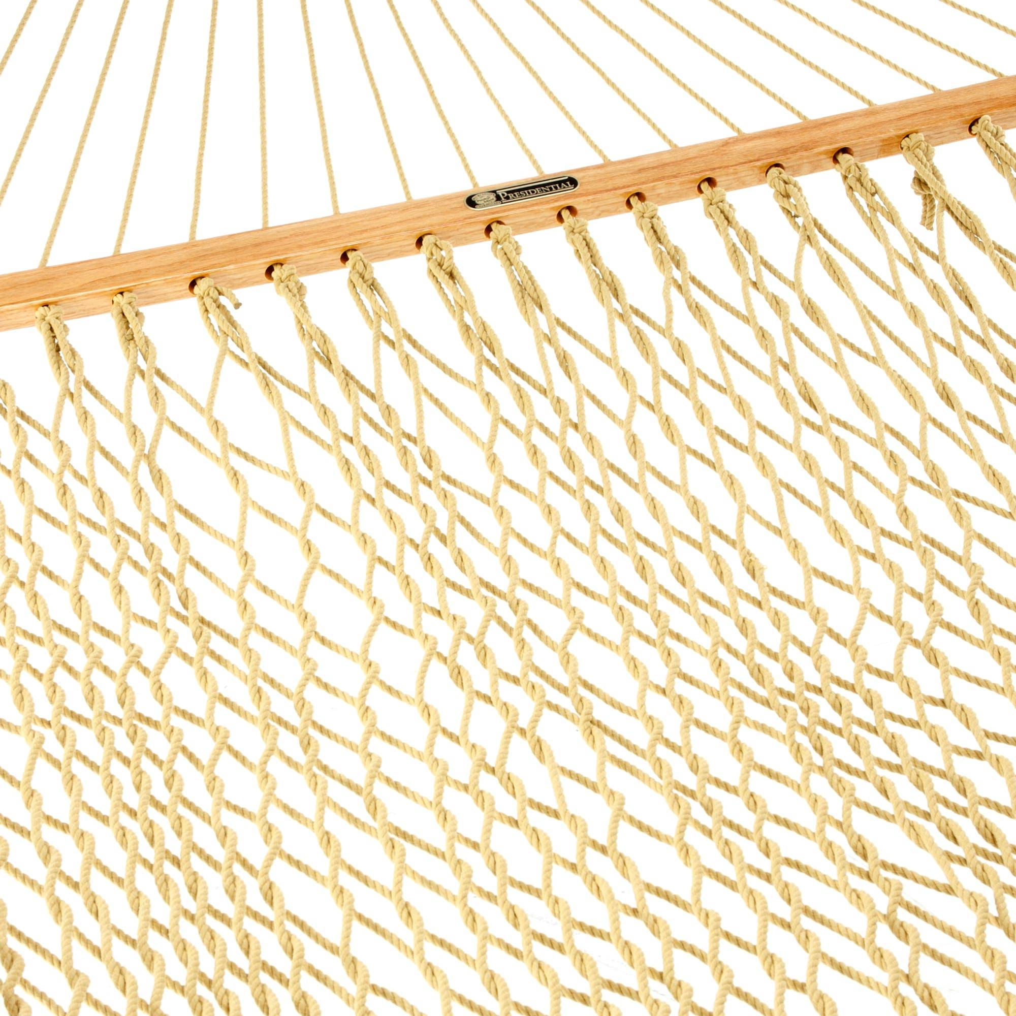 Tan Presidential Original Duracord Rope Hammock