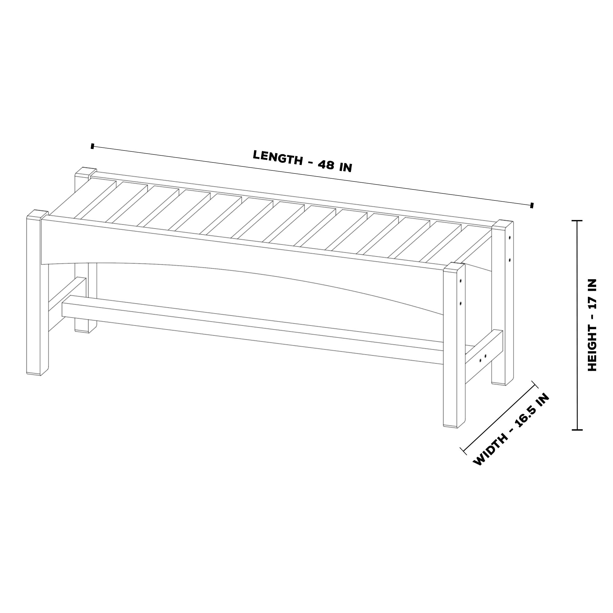 Durawood Dining Bench