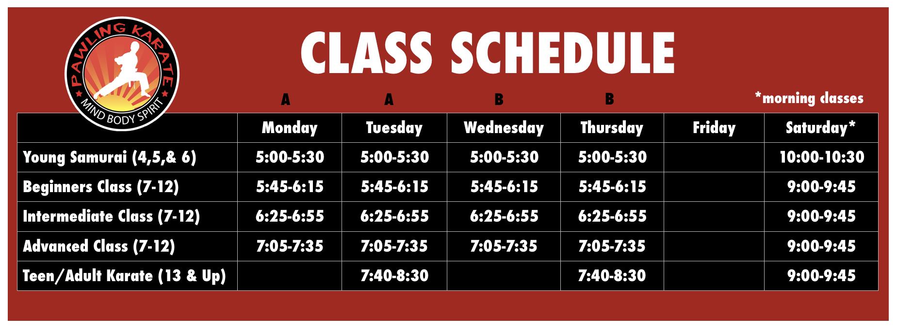 schedule4+