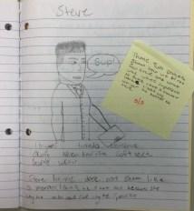Steve's Character