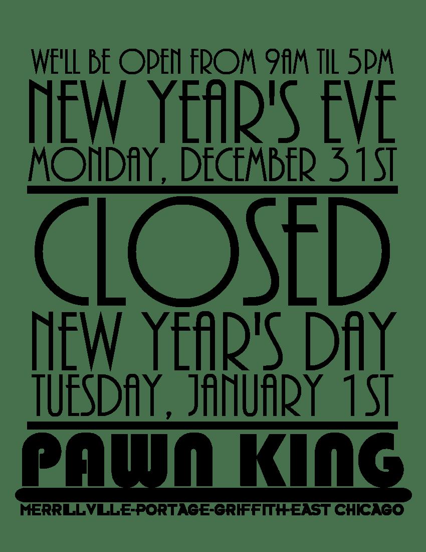 New years hours pk