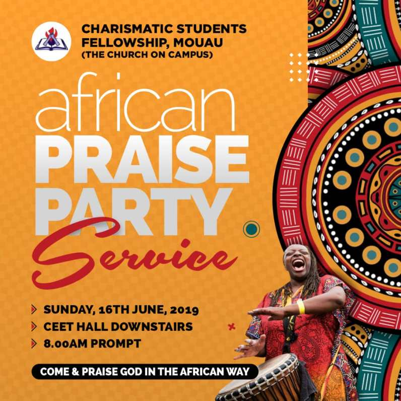 African Praise Party - Pawns Graphics
