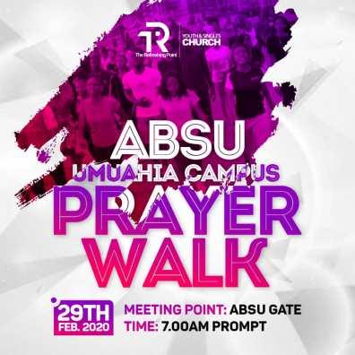 ABSU Prayer Walk - Pawns