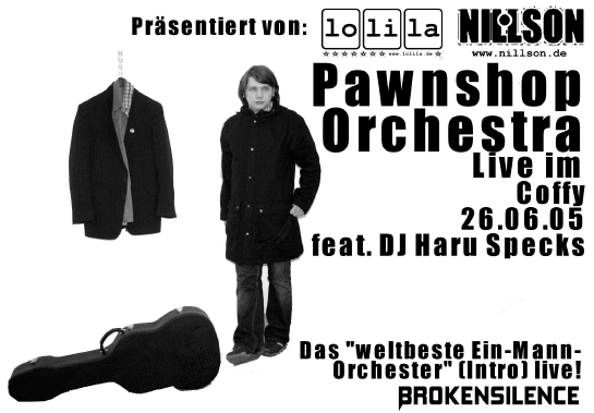 Pawnshop Orchestra live im Coffy