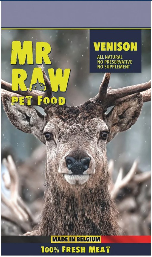 Mr Raw Venison 生肉糧