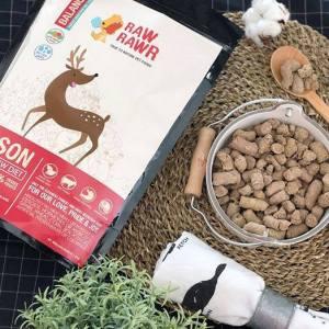 生肉糧, 凍乾生肉糧, 天然糧, 健康狗糧, raw pet food, raw rawrr, 鹿肉糧