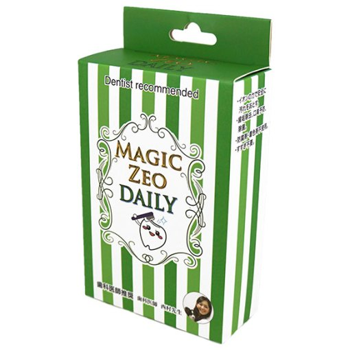 Magic zeo daily, 去牙石