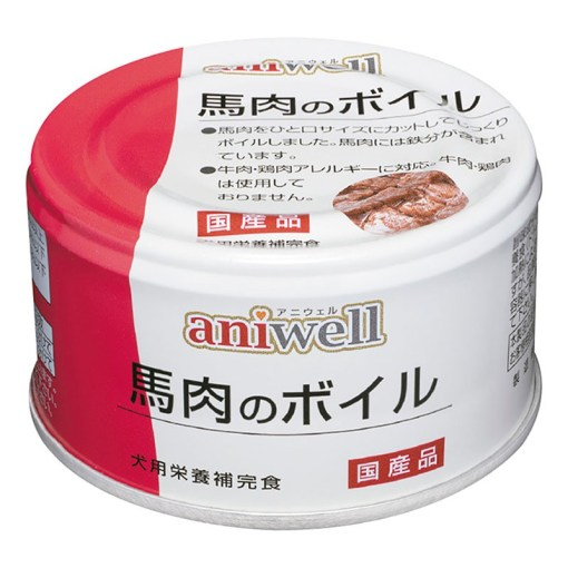 aniwell馬肉煮,馬肉, 馬肉罐, 馬肉糧, 日本直送