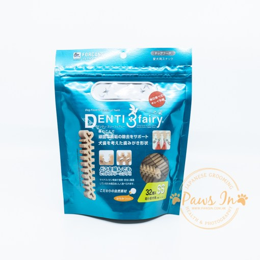 日本 Forcans Denti3Flairy 天然潔齒小食 SS (32件)