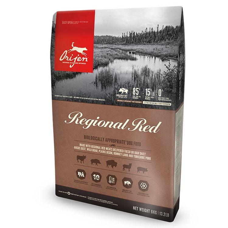 ORIJEN REGIONAL RED 無穀物紅肉 (犬用) 配方