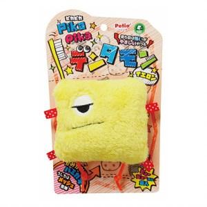 Petio磨牙怪獸狗玩具(黃色)