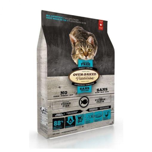 OVEN-BAKED 奧雲寶 無穀物 5種魚防敏 貓糧