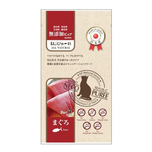 日本 Riverd Republic 無添加 吞拿魚肉泥