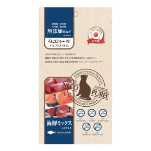 日本 Riverd Republic 無添加 貓用 混合海鮮 肉泥13gx4