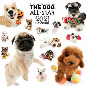 2021 Japan The Dog All-Star Calendar 全明星犬日曆